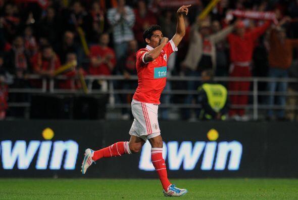 Jardel Vieira abrió el marcador cuando se cumplían 50 minu...