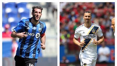 Piatti vs. 'Ibra': duelo de 'cracks' en un partido entre los urgidos Montréal Impact y LA Galaxy