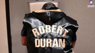 En fotos: Con tremendo nocaut, Roberto Durán Jr. debutó en el boxeo profesional