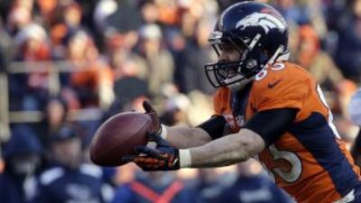 Wes Welker está de regreso para los playoffs (AP-NFL).