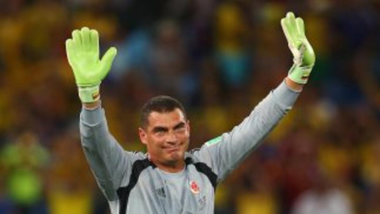 El arquero colombiano afirmó que el récord que rompió no es de él, sino...