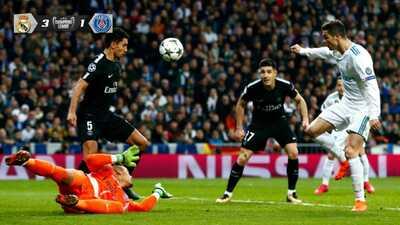 De esta forma, Cristiano Ronaldo marcó el segundo tanto del partido.