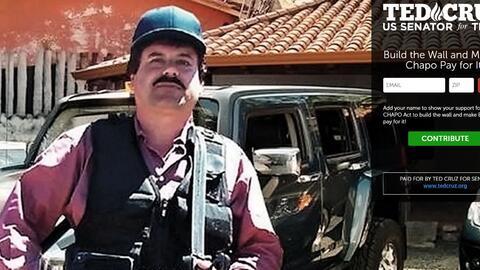 Promoción de la Ley El Chapo propuesta por el senador republicano...