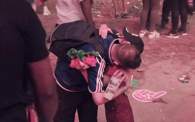 La adorable reacción de este niño fanático de Portugal con un seguidor d...