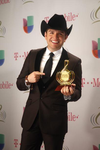 El joven cantante de regional mexicano, Dasahev López Saavedra, mejor co...