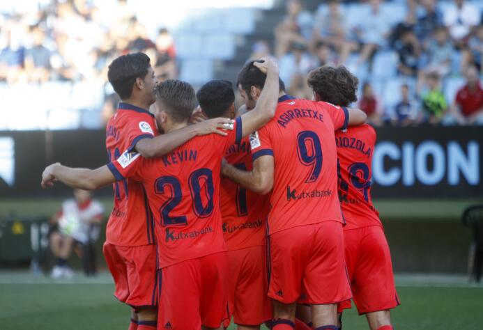 Con Vela, la Real Sociedad remontó y ganó al Celta en Vigo 6363877069983...