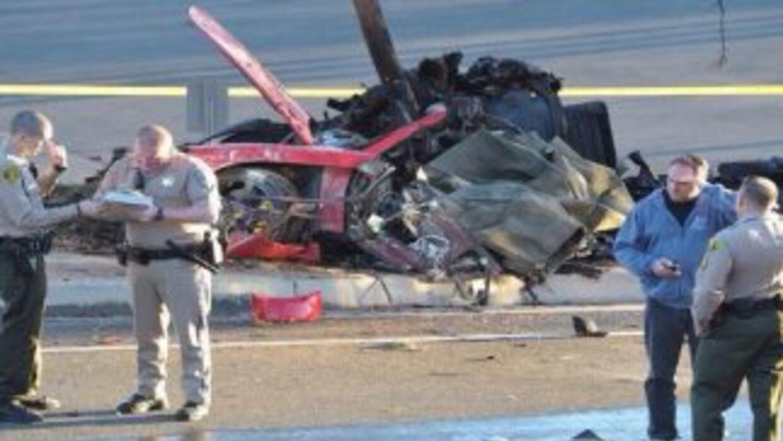 Los detectives dijeron que encontraron el panel del techo del vehículo c...