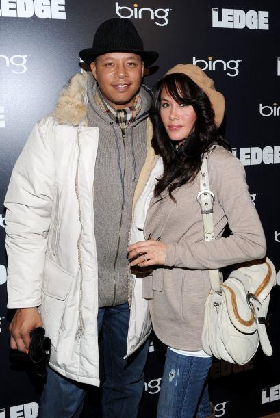 Terrence Howard y Michelle Ghent Cinco meses después de que se habían ca...