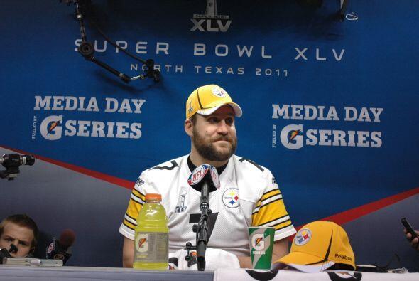 """El """"Big Ben"""" se mostró feliz en la sesión de preguntas y respuestas."""