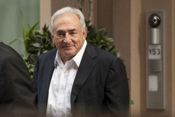 Strauss-Kahn renunció a su cargo el pasado 18 de mayo, luego de ser acus...