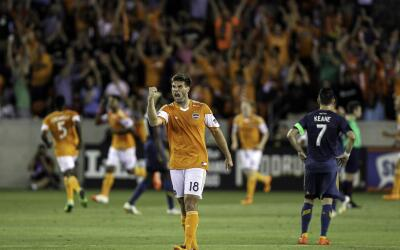 Houston  Dynamo venció por 1-0 al LA Galaxy en el 2014