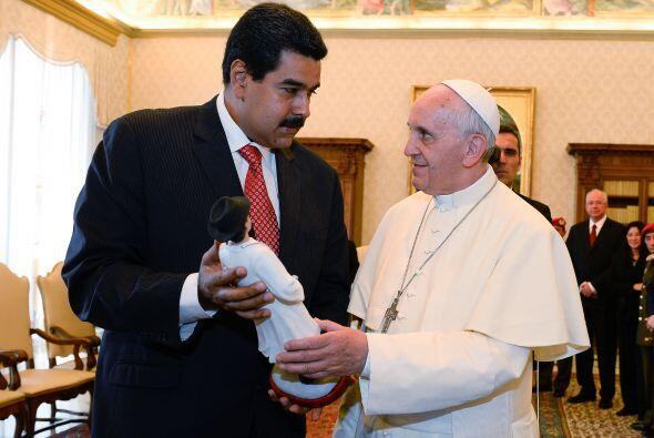 Y uno de los actos más recientes fue la visita del presidente Venezolano...