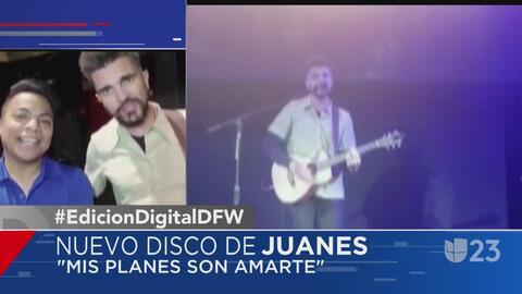Juanes presenta en Dallas su más reciente álbum