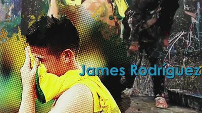 Arte Mundial: la noche en que James Rodríguez lloró la eliminación de Colombia en el Mundial de Brasil