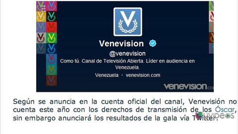 Por primera vez Venezuela no ve los premios Oscar