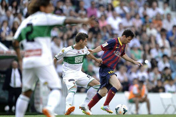 La marca sobre Messi y el resto de figuras barcelonistas fue dura.