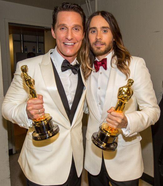 Mathew McConaughey y Jared Jeto, premios al mejor actor masculino y el m...