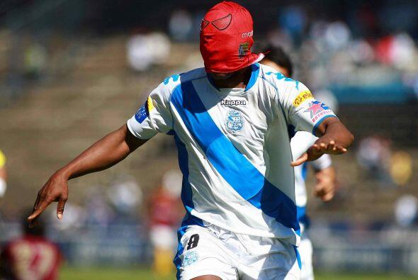 En Puebla utilizó la máscara Spiderman.