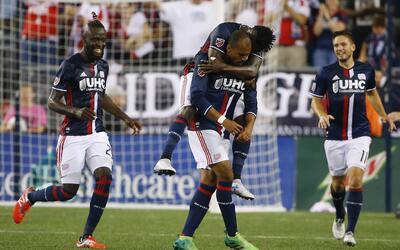 New England Revolution cortó una mala racha al superar a LA Galaxy.