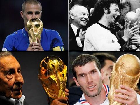 A continuación te presentamos a los mejores futbolistas en la his...