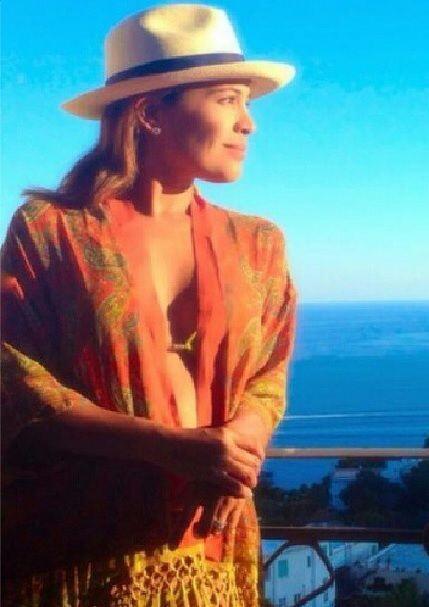 Karla Martínez disfrutando de una increíble vista. (Septiembre 24, 2014)