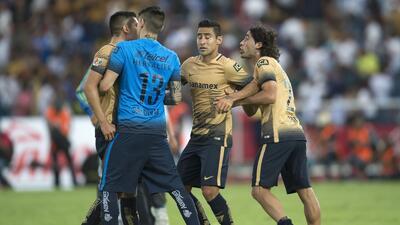 Los futbolistas de Pumas tuvieron una discusión tra la derrota ante Puebla