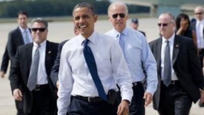 Obama alentó a los habitantes de Nueva Hampshire a convencer a sus famil...