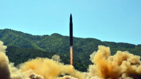 Corea del Sur argumenta que el misil balístico intercontinental p...