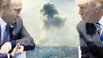 El ataque con misiles golpeó la capacidad del régimen de Al Asad de usar...