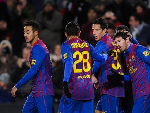 El Barcelona volvió al triunfo en la Liga, luego de derrotar a la...