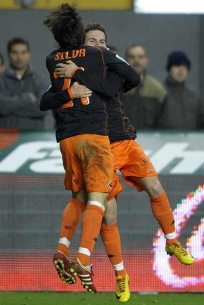 Mata logró el gol del empate para el conjunto 'che'.