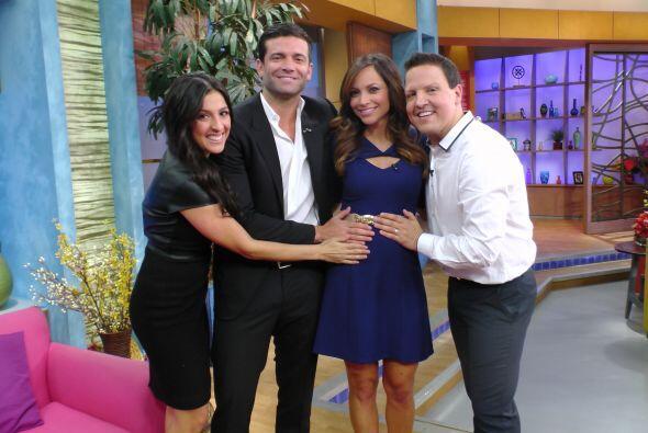 Satcha Pretto anuncia su embarazo