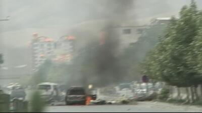 Bomba explota en el parlamento de Afganistán