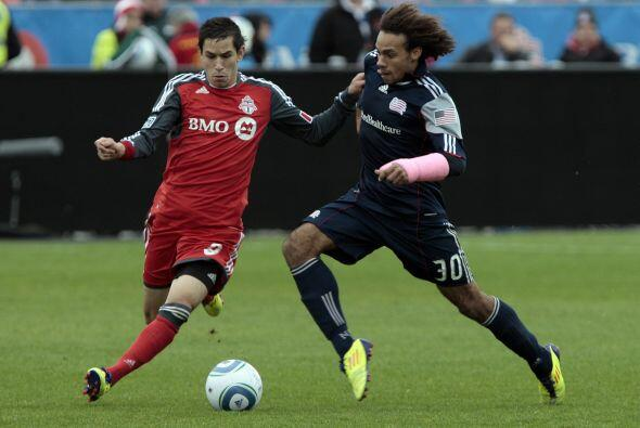 Toronto y New England cerraron su participación con un empate.
