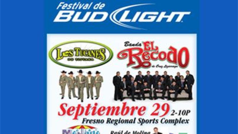 Ven a celebrar con Univision el Festival de Bud Light el sábado 29 de se...