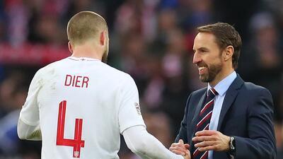 Eric Dier disfruta mucho el tener a Gareth Southgate como técnico de Inglaterra