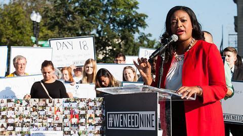 Michele Jawando, vicepresidenta para el progreso legal en el Center for...