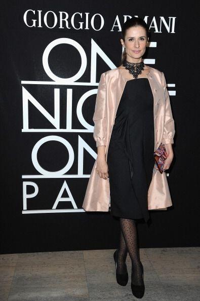 Livia Firth, esposa del actor inglés ganador de un Oscar, Colin Firth, l...