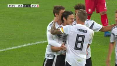 ¡Goool de Alemania! Nico Schulz pone el del triunfo en su debut