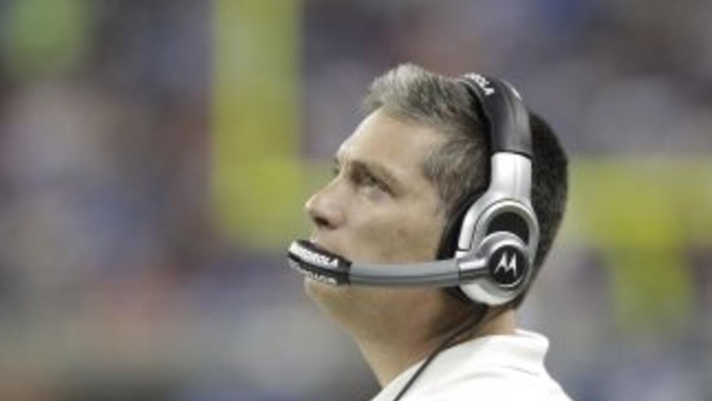 Jim Schwartz y los Lions están eliminados (AP-NFL).