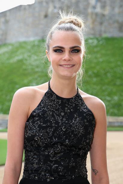 Cara Delevingne, la top model que recién anduvo con Michelle Rodriguez.M...