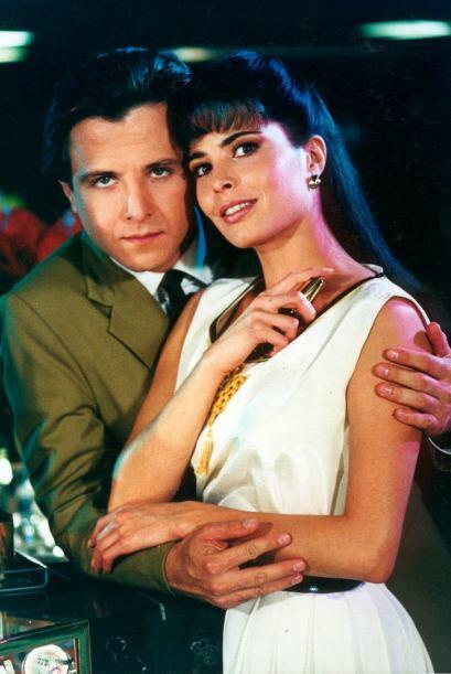 Junto a Eduardo Palomo tuvo una romántica historia.