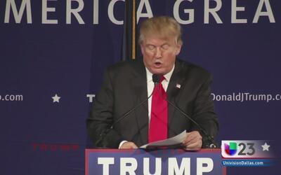 Rechazan en Dallas declaraciones de Trump