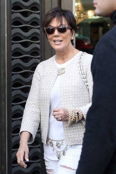 Todo el clan Kardashian se encuentra en París para la gran uni&oa...