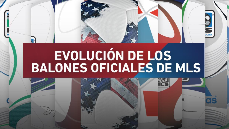 Evolución del balón de la MLS DL