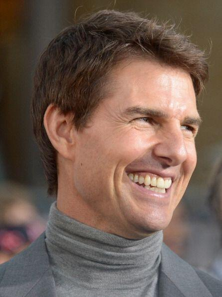 Años atrás Tom Cruise ¡tuvo una sonrisa espantosa! que afortunadamente t...