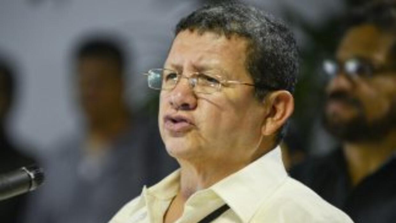 Pablo Catatumbo, negociador de las FARC.