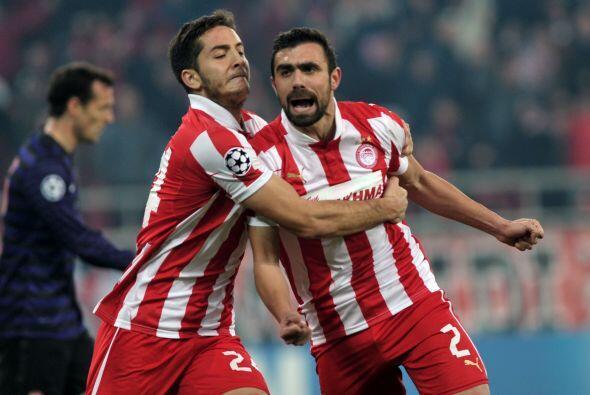 Pero para el complemento Giannis Maniatis y Kostas Mitroglou dieron vuel...