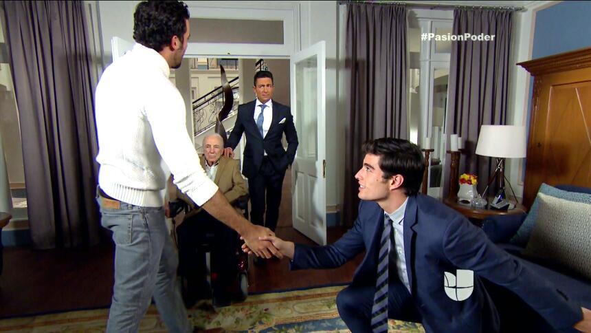 ¡Franco se convirtió en heredero de Eladio! CE96D2286F3044A18E19BA437E6F...