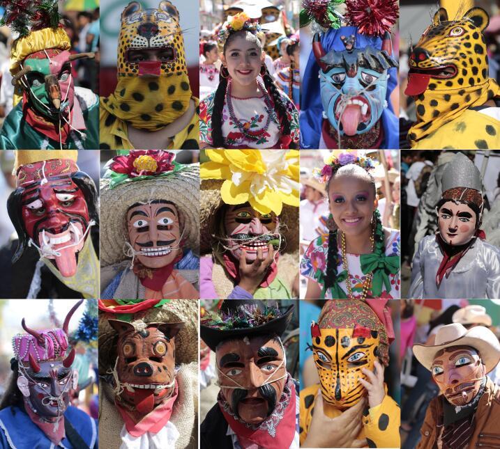 En Chilpancingo, en el estado de Guerrero, celebran las fiestas al estil...